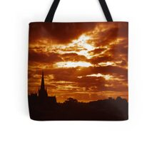 St Mary of the Sunsets Tote Bag