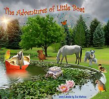 The Adventures of Little Boat by digitalmidge
