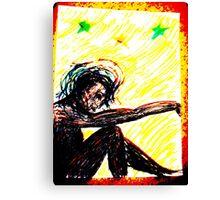 Black Doll, original version, Rose Loya Canvas Print