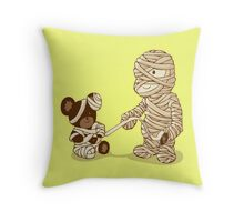 MUMMY'S BOY v2.0 Throw Pillow