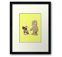 MUMMY'S BOY v2.0 Framed Print