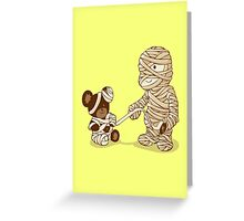 MUMMY'S BOY v2.0 Greeting Card