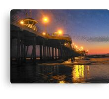 Surf City Lights Canvas Print