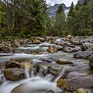 Austria: Hiking in the rain by Bernd F. Laeschke