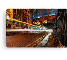 Central Station Lights 2 Canvas Print