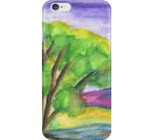 A tree in summer iPhone Case/Skin
