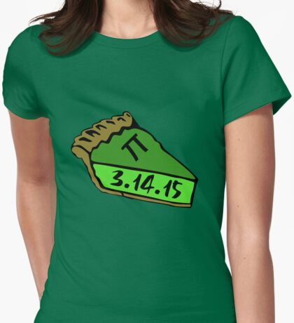 Pi day 2015 Womens Fitted T-Shirt