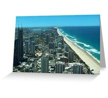 Summer city-scape Greeting Card