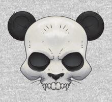 Skull Panda  One Piece - Short Sleeve
