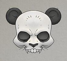 Skull Panda  by crabro