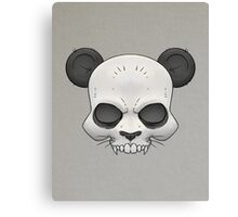 Skull Panda  Canvas Print