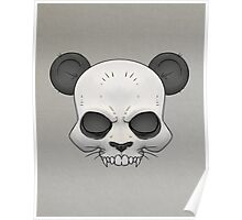 Skull Panda  Poster