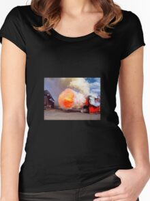Fire training Women's Fitted Scoop T-Shirt