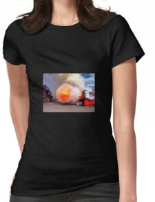 Fire training Womens Fitted T-Shirt