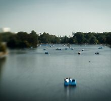 The Serpentine, Hyde Park, London by Matthew Walters