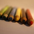 crayons by Gregor Pawlak