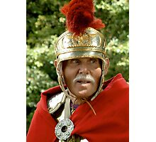 Roman Soldier II, re-enactment day Photographic Print