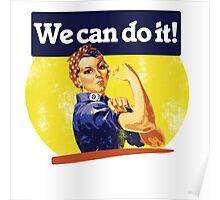 We can do it Poster