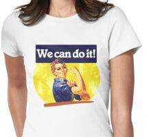 We can do it Womens Fitted T-Shirt