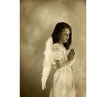 Ethereal Angel Photographic Print
