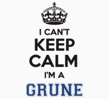 I cant keep calm Im a GRUNE by paulrinaldi