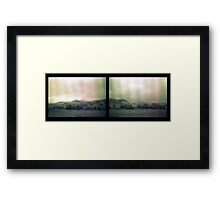 another muted landscape Framed Print
