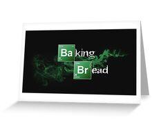Baking Bread Greeting Card