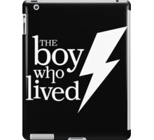 The boy who lived iPad Case/Skin