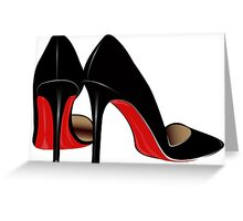 Killer Heels Greeting Card
