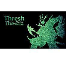 Thresh Chain The Warden Photographic Print