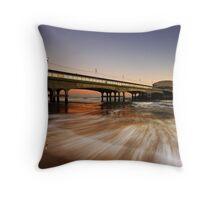 Wave Rush Throw Pillow