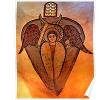 Coptic Archangel Poster