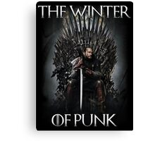 The Winter of Punk Canvas Print