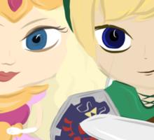 Link & Zelda Valentines: Missing Link Sticker