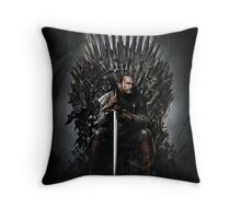The Winter of Punk Throw Pillow