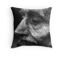Stone Faced Throw Pillow