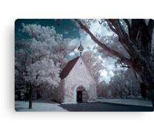 Infrared Church Canvas Print