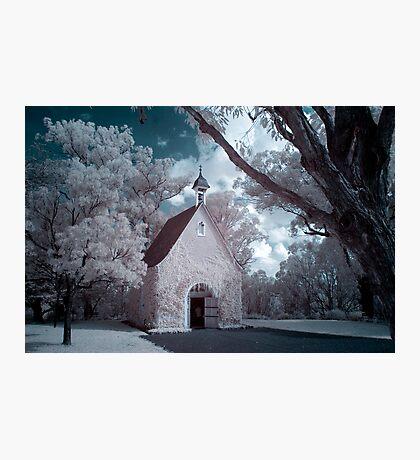 Infrared Church Photographic Print