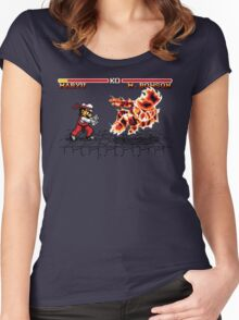Super Smash Fighter Women's Fitted Scoop T-Shirt