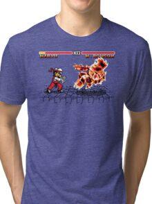 Super Smash Fighter Tri-blend T-Shirt