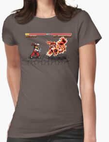 Super Smash Fighter Womens Fitted T-Shirt
