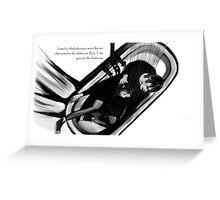 Violet's Death Greeting Card