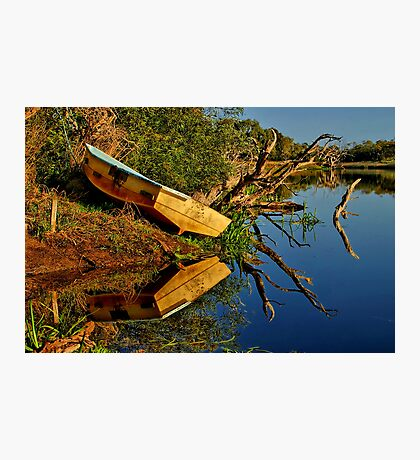 """Creekside Reflections"" Photographic Print"