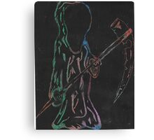 Grim Reaper To Take You Canvas Print
