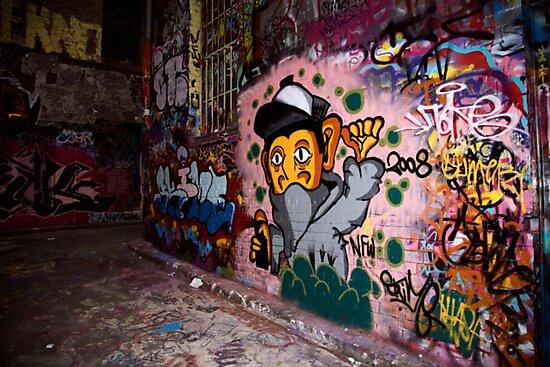 More Graffiti around Melbourne by Rosina  Lamberti
