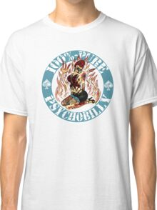Psychobilly Girl - blue Classic T-Shirt