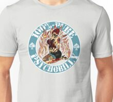 Psychobilly Girl - blue Unisex T-Shirt