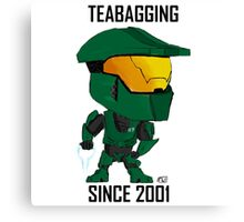 TEABAGGING SINCE 2001 Canvas Print