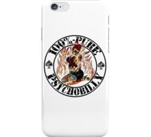 Psychobilly Girl - white iPhone Case/Skin