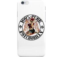 Psychobilly Girl - white iPhone Case/Skin